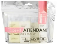 Image of Giovanni - Flight Attendant First Class Hair & Body Kit Smooth As Silk Deep Moisture & Grapefruit Sky - 4 Piece(s)