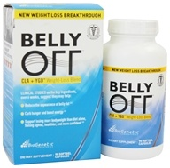 BioGenetic Laboratories - Belly Off CLA + YGD Weight-Loss Blend - 90 Softgels