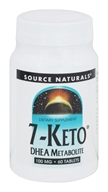 Image of Source Naturals - 7-Keto DHEA Metabolite 100 mg. - 60 Tablets