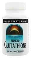 Image of Source Naturals - Reduced Glutathione 250 mg. - 60 Capsules