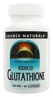 Source Naturals - Reduced Glutathione 250 mg. - 60 Capsules