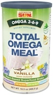 Health From The Sun - Omega 3-6-9 Total Omega Meal Vanilla - 16.5 oz. by Health From The Sun