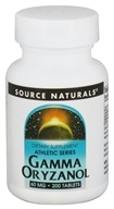 Image of Source Naturals - Athletic Series Gamma Oryzanol 60 mg. - 200 Tablets