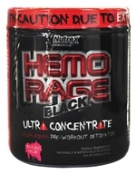 Image of Nutrex - Hemo Rage Black Ultra Concentrate Malicious Melon 30 Servings - 9.21 oz.