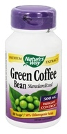 Nature's Way - Green Coffee Bean 500 mg. - 60 Vegetarian Capsules, from category: Diet & Weight Loss