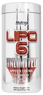 Image of Nutrex - Lipo 6 Unlimited Bonus Size - 132 Liquid Capsules