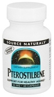 Image of Source Naturals - Pterostilbene 50 mg. - 60 Vegetarian Capsules