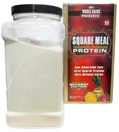 Image of BioRhythm - 100% Whole Gains Square Meal Naturally Balanced Protein Tropical Mango - 4.94 lbs.