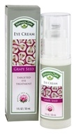 Nature's Gate - Eye Cream Targeted Eye Treatment Grape Seed - 1 oz. - $13.56