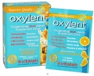 Oxylent - Oxygenating Multivitamin Drink Sparkling Mandarin - 7 Packet(s), from category: Vitamins & Minerals