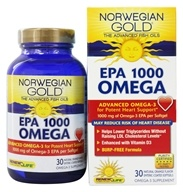 ReNew Life - Norwegian Gold Omega EPA 1000 mg. - 30 Softgels, from category: Nutritional Supplements