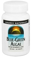Image of Source Naturals - Blue-Green Algae 500 mg. - 50 Tablets