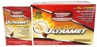 Champion Nutrition - Ultramet Low Carb Vanilla Cream - 20 x 2 oz.(56g) Packets - $45.99
