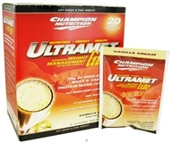 Champion Nutrition - Ultramet Lite Vanilla Cream - 20 x 2 oz.(56g) Packets