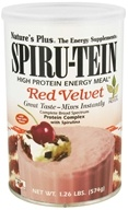 Image of Nature's Plus - Spiru-Tein High Protein Energy Meal Red Velvet - 1.26 lbs.