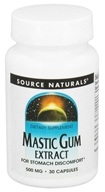 Image of Source Naturals - Mastic Gum Extract 500 mg. - 30 Capsules