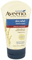 Image of Aveeno - Active Naturals Skin Relief Hand Cream Intense Moisture Fragrance Free - 3.5 oz.