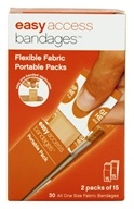 After Bite - Easy Access Bandages Portable Packs Flexible Fabric - 30 Bandage(s) by After Bite