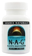Image of Source Naturals - N-A-G N-Acetyl Glucosamine 250 mg. - 60 Tablets