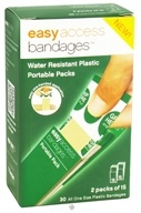 After Bite - Easy Access Bandages Portable Packs Water Resistant Plastic - 30 Bandage(s) CLEARANCE PRICED - $0.99