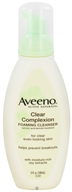 Aveeno - Active Naturals Clear Complexion Foaming Cleanser Oil-Free - 6 oz. (381370036913)