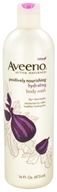 Image of Aveeno - Active Naturals Positively Nourishing Body Wash Hydrating Fig + Shea Butter - 16 oz.
