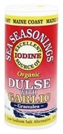 Maine Coast Sea Vegetables - Sea Seasonings Organic Dulse with Garlic - 1.5 oz. by Maine Coast Sea Vegetables