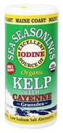Maine Coast Sea Vegetables - Sea Seasonings Organic Kelp with Cayenne - 1.5 oz. (034529123704)