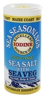 Maine Coast Sea Vegetables - Sea Seasonings Organic Sea Salt with Sea Veg - 1.5 oz. (034529123742)