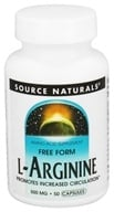 Source Naturals - L-Arginine Free Form 500 mg. - 50 Capsules - $4.10