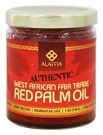 Alaffia - Authentic West African Red Palm Oil - 5 oz. OVERSTOCKED
