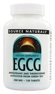 Image of Source Naturals - EGCG 350 mg. - 120 Tablets