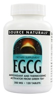 Source Naturals - EGCG 350 mg. - 120 Tablets - $24.06