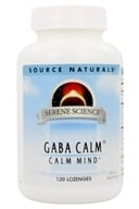 Image of Source Naturals - GABA Calm Sublingual Peppermint Flavored - 120 Tablets
