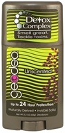 GeoDeo - Deodorant Plus Detox Complex Unscented - 2.3 oz. by GeoDeo