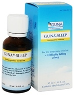 Guna Biotherapeutics - Guna-Sleep Homeopathic Medicine - 1 oz.