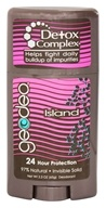 GeoDeo - Deodorant Plus Detox Complex Island - 2.3 oz. by GeoDeo