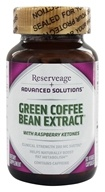ReserveAge Organics - Green Coffee Bean Extract 200 mg. - 60 Vegetarian Capsules (094922390226)