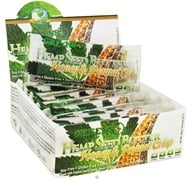 Greens Plus - Hemp Seed Butter Bar Honey & Peanut Crisp - 1.4 oz. by Greens Plus