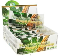 Greens Plus - Hemp Seed Butter Bar Honey & Peanut Crisp - 1.4 oz.