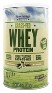 ReserveAge Organics - Grass-Fed Whey Protein Vanilla - 12.7 oz., from category: Sports Nutrition