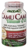 Greens Plus - Camu Camu Vitamin C Caps - 120 Vegetarian Capsules
