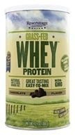 ReserveAge Organics - Grass-Fed Whey Protein Chocolate - 12.7 oz. (094922351722)