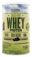 ReserveAge Organics - Grass-Fed Whey Protein Chocolate - 12.7 oz., from category: Sports Nutrition