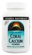 Image of Source Naturals - Coral Calcium Powder - 4 oz.