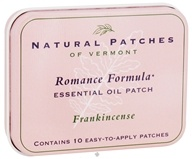 Natural Patches of Vermont - Essential Oil Body Patch Romance Formula Frankincense - 10 Patch(es) (855611001812)
