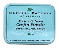 Image of Natural Patches of Vermont - Essential Oil Body Patch Fibromyalgia Mint - 10 Patch(es)