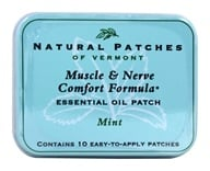 Natural Patches of Vermont - Essential Oil Body Patch Fibromyalgia Mint - 10 Patch(es) by Natural Patches of Vermont