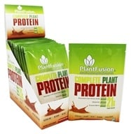 Image of PlantFusion - Nature's Most Complete Plant Protein Chocolate Raspberry - 12 Packet(s)