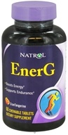 Natrol - EnerG CranTangerine - 60 Chewable Tablets CLEARANCE PRICED - $5